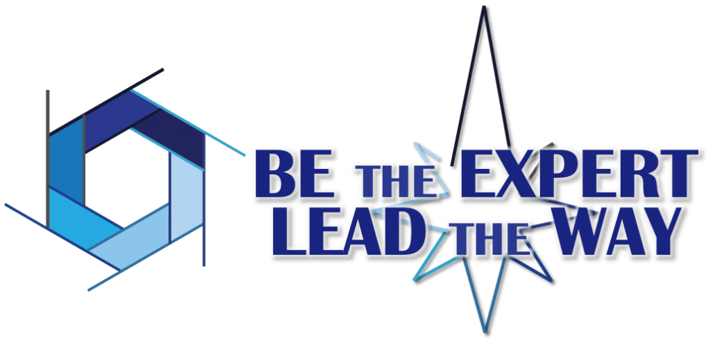 Be the Expert - Lead the Way Logo for Consultant Name Plates