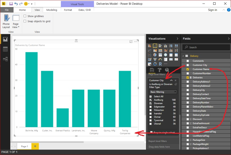 Power BI Value and Table Columns - Figure 05
