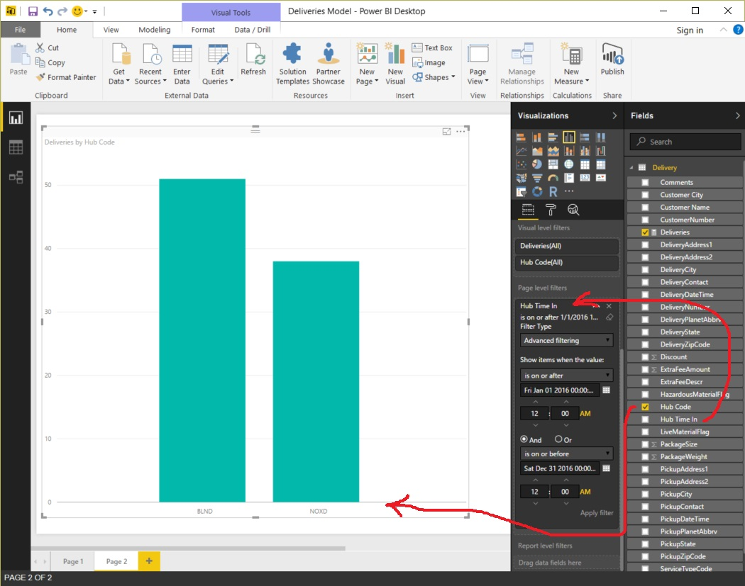 Power BI Value and Table Columns - Figure 09