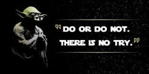 Do Or Do Not There is no try photo